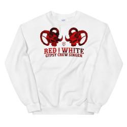 Men - Sweatshirt - Red...
