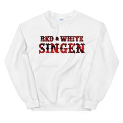 Men - Sweatshirt - Red &...