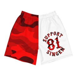 Men - Shorts - Red Camo