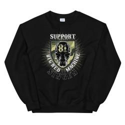 Men - Sweatshirt - Skull Camo