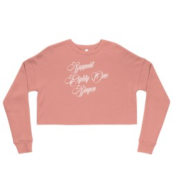 Women - Crop Sweatshirt -...