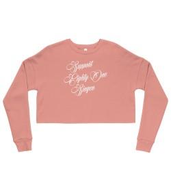 Women - Crop Sweatshirt -...