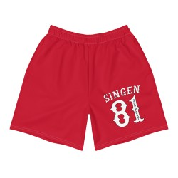 Men - Shorts - Red