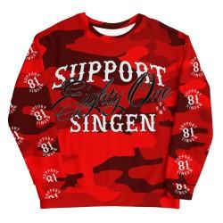 Men - Red Camo - Sweatshirt