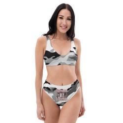 Women - Bikini - Camo White